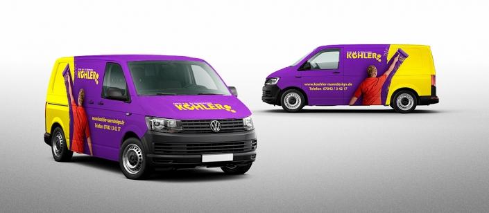 SIGADesign Grafik Corporate Werbetechnik Fahrzeugfolierung