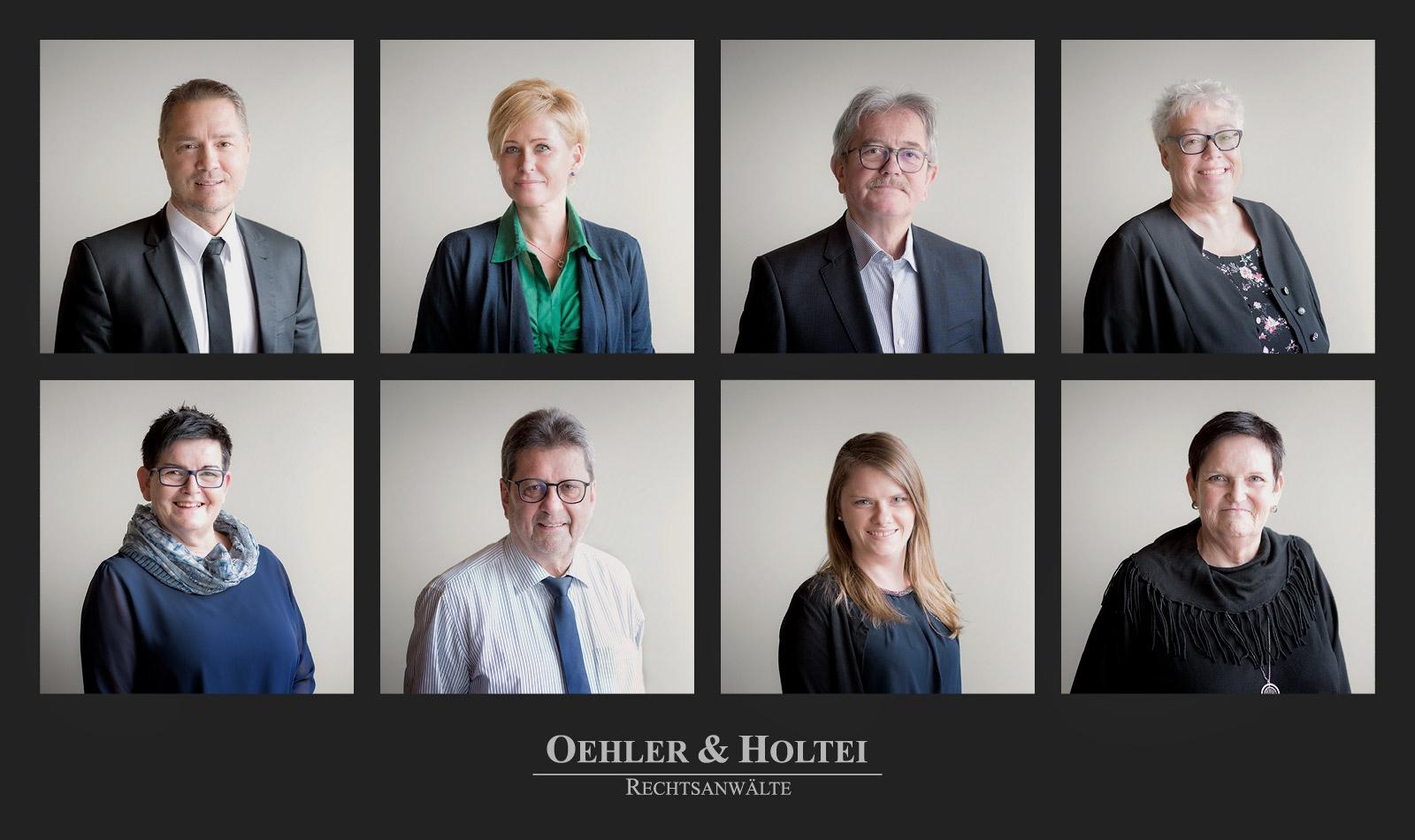 Fotografie: Business Portraits für Oehler & Holtei Rechtsanwälte