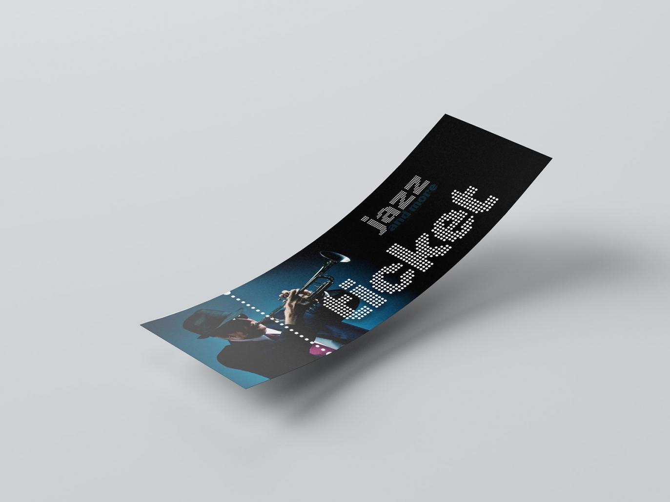 Logo, Eintrittskarten, Tickets für den Event jazz and more