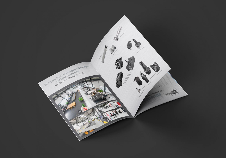 Magazine, Broschüren und Kataloge für KW Präzisionswerkzeuge