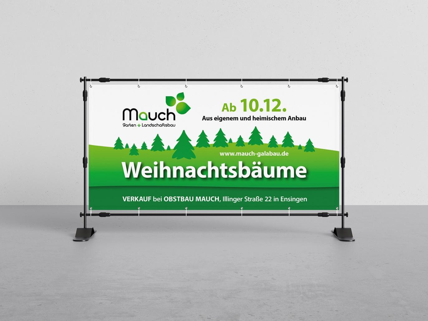 Banner Mauch Galabau