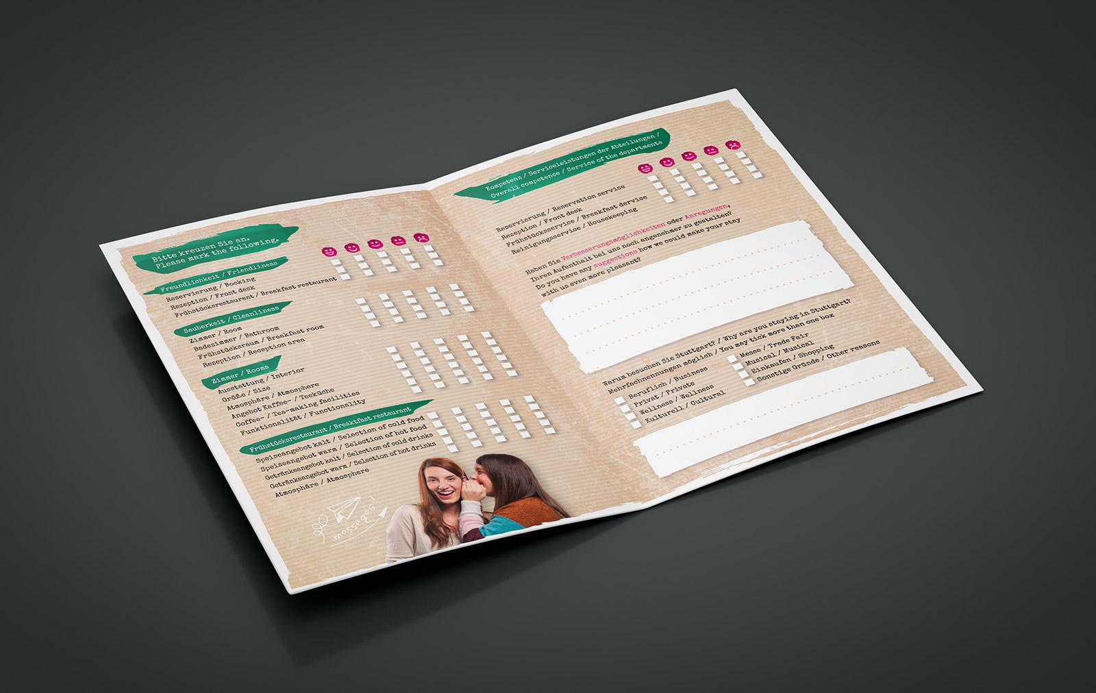 Bewertungsbogen Flyer für SI-SUITES