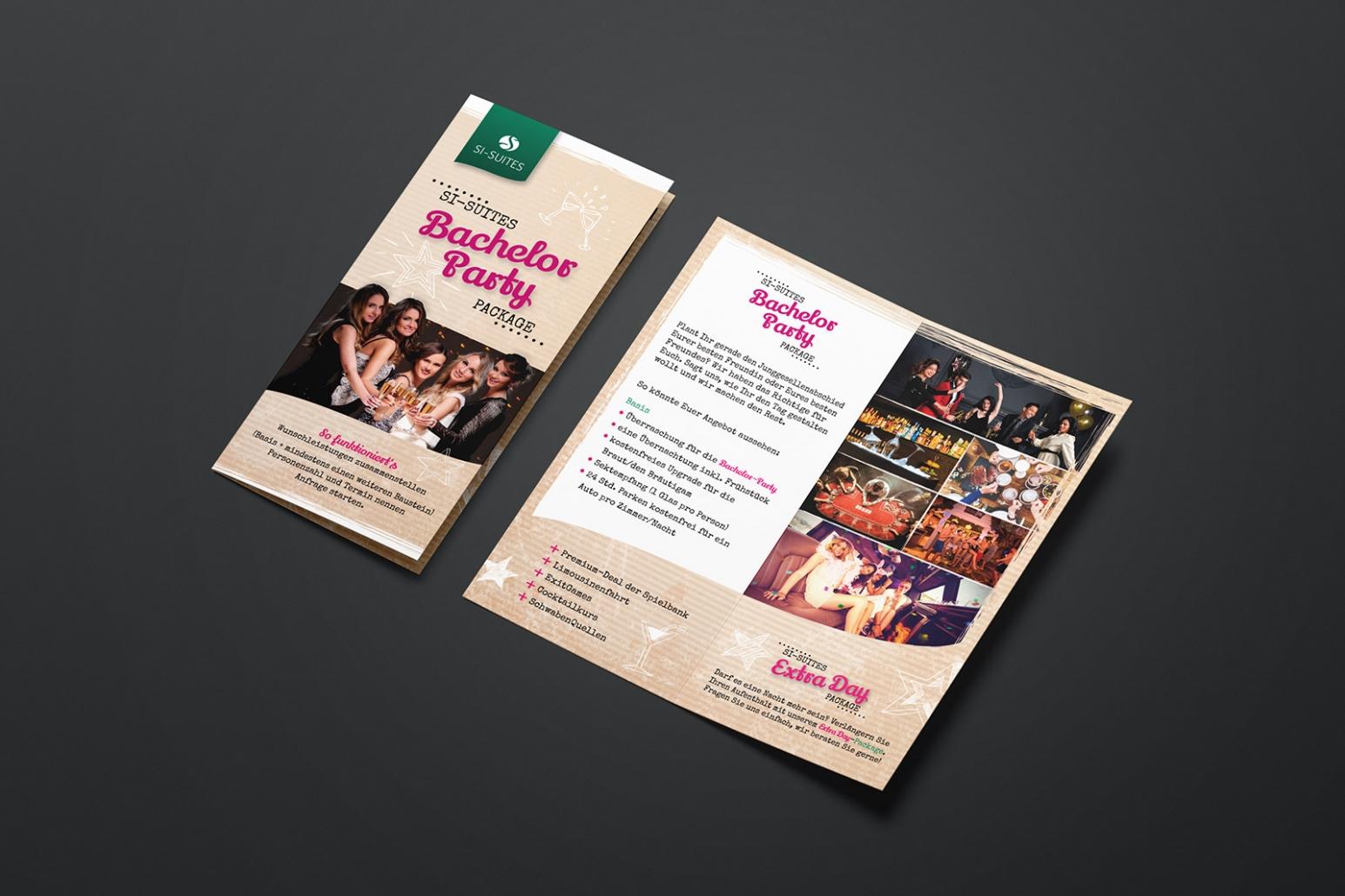 Angebote Flyer für SI-SUITES