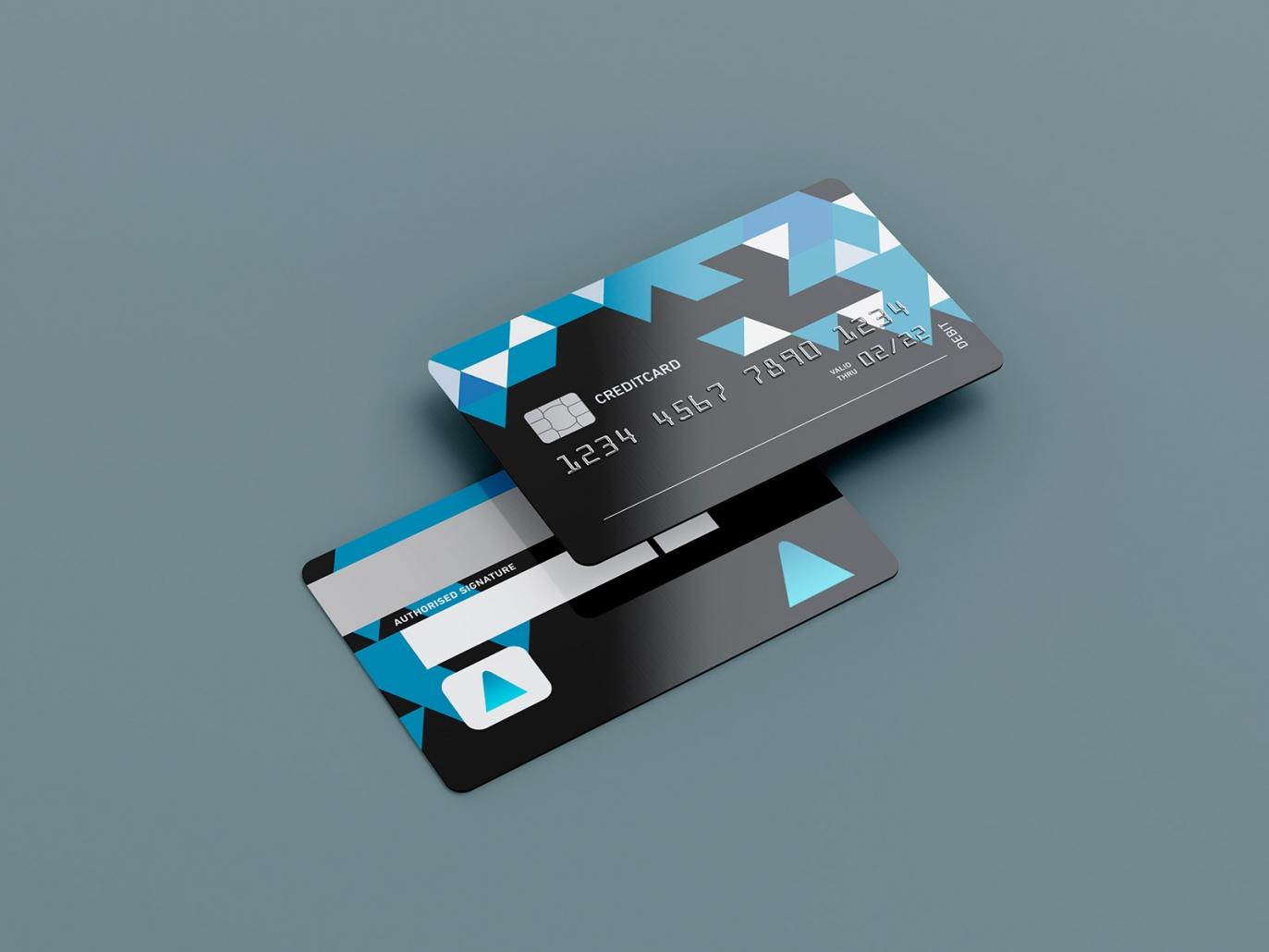 Kreditkarten für Tampografie
