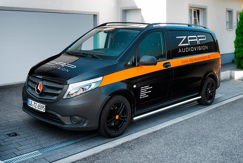 Fahrzeugfolierung für ZAP audiovision